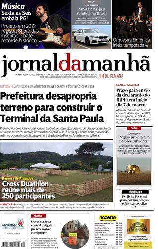 Jornal da Manhã - O mais influente dos Campos Gerais 92cbc42784905